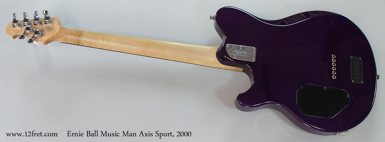 Ernie Ball Music Man Axis Sport, 2000 Full Rear View