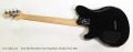 Ernie Ball MusicMan Axis SuperSport Hardtail Teal, 2002 Full Rear View