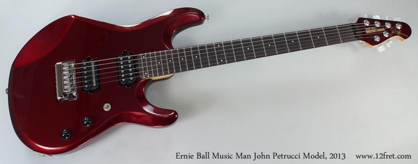 Ernie Ball Music Man John Petrucci Model, 2013 Full Front View