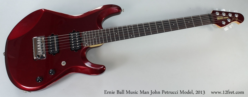 Ernie Ball Music Man John Petrucci Model, 2013 Full Front View