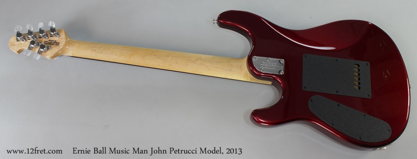 Ernie Ball Music Man John Petrucci Model, 2013 Full Rear View