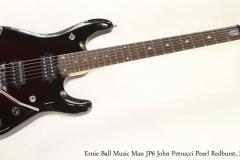 Ernie Ball Music Man JP6 John Petrucci Pearl Redburst, 2014  Full Front View