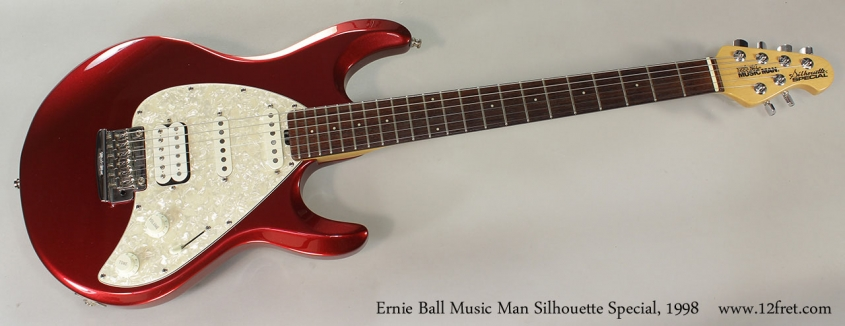 Ernie Ball Music Man Silhouette Special, 1998 Full Front View