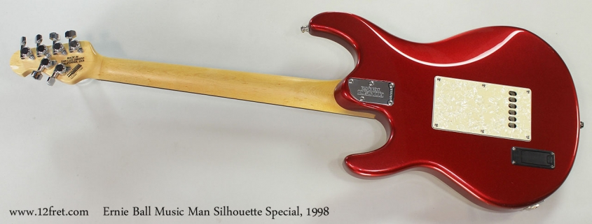 Ernie Ball Music Man Silhouette Special, 1998 Full Rear VIew