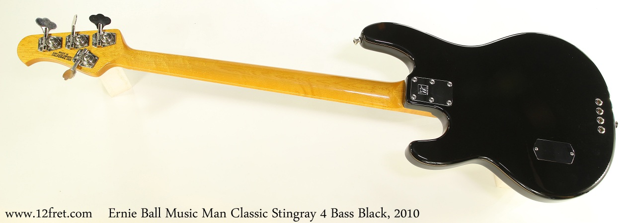 ebmm classic stingray 4 bass black 2010. Black Bedroom Furniture Sets. Home Design Ideas