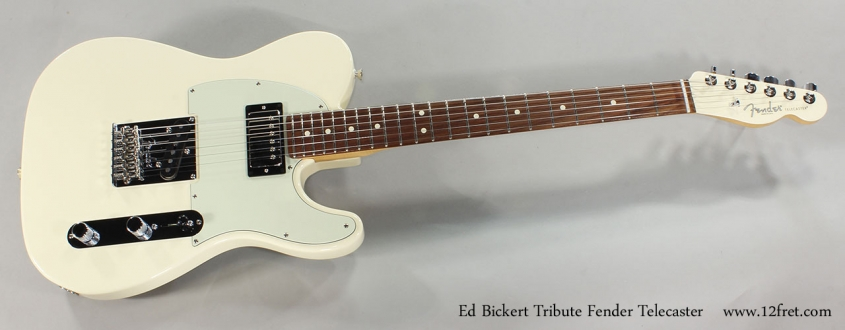 Ed Bickert Tribute Telecaster Full Front View