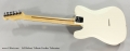 Ed Bickert Tribute Telecaster Full Rear View