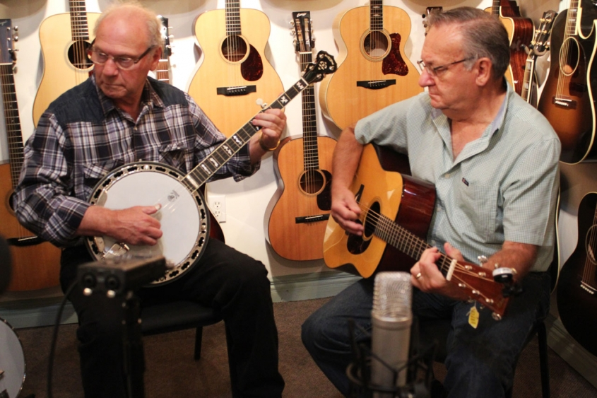 Eddy Poirer and Gerrry McCaie Play Bluegrass at The Twelfth Fret