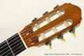 Edgar Monch Classical Guitar, 1968 Head Front View