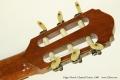 Edgar Monch Classical Guitar, 1968 Head Rear View