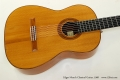 Edgar Monch Classical Guitar, 1968 Top View