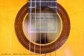 Eduardo Ferrer Flamenco Blanca Guitar, 1970 Label View