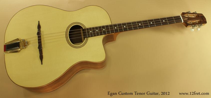 Egan Custom Tenor Guitar 2012 full front view