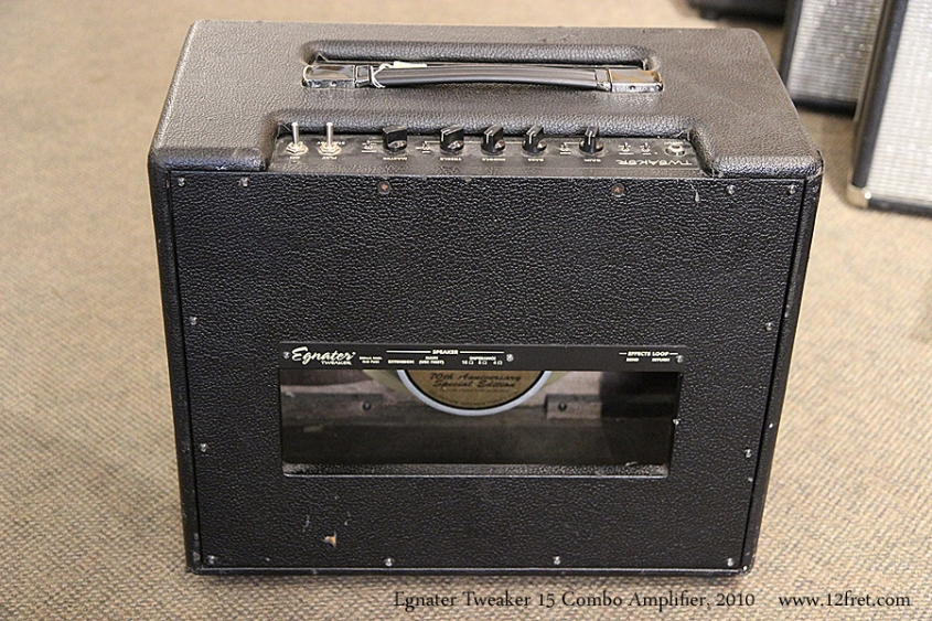 Egnater Tweaker 15 Combo Amplifier, 2010 Full Rear View