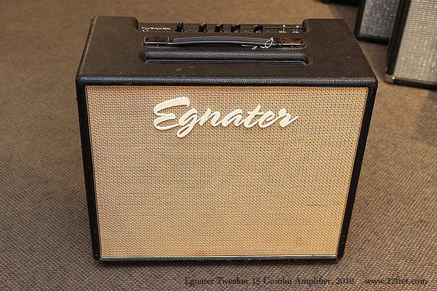 Egnater Tweaker 15 Combo Amplifier, 2010 Full Front View
