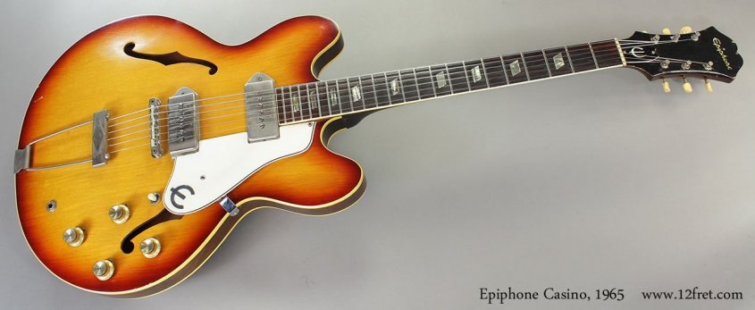 Epiphone Casino, 1965 Full Front VIew