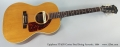 Epiphone FT45N Cortez Steel String Acoustic, 1964 Full Front View