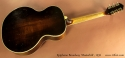 Epiphone Broadway Masterbilt, 1932 full rear