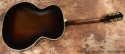 Epiphone Broadway Archtop 1939 full rear view