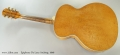 Epiphone DeLuxe Archtop, 1946 Full Rear View