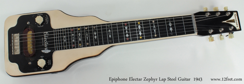 Epiphone Electar Zephyr Steel 1943 full front view