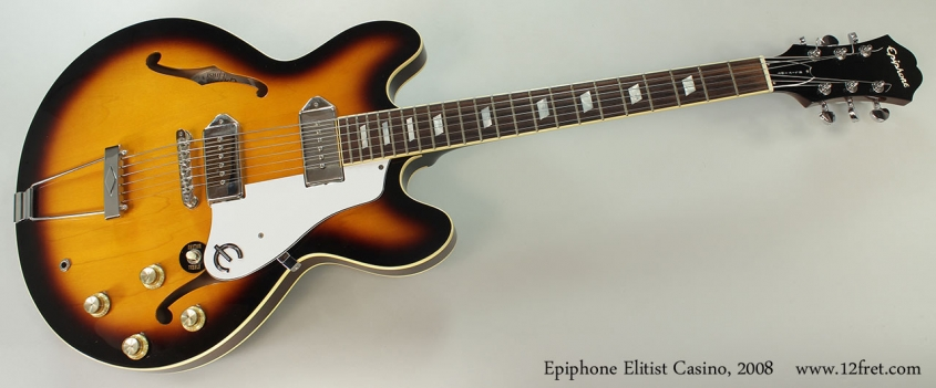 Epiphone Elitist Casino, 2008 Full Front View