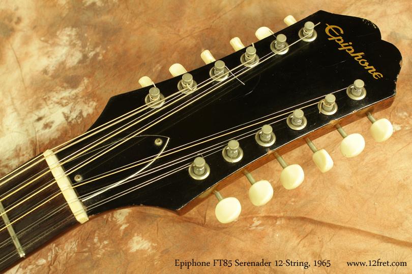 Epiphone F585 Serenader 12-String 1965 head front