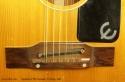 Epiphone F585 Serenader 12-String 1965 bridge