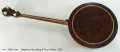 Epiphone Recording B Tenor Banjo, 1929 Full Rear View