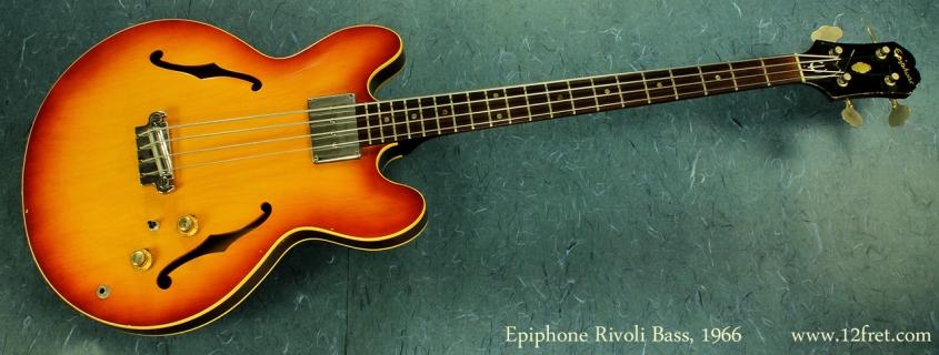 Epiphone Rivoli Bass 1966 full front
