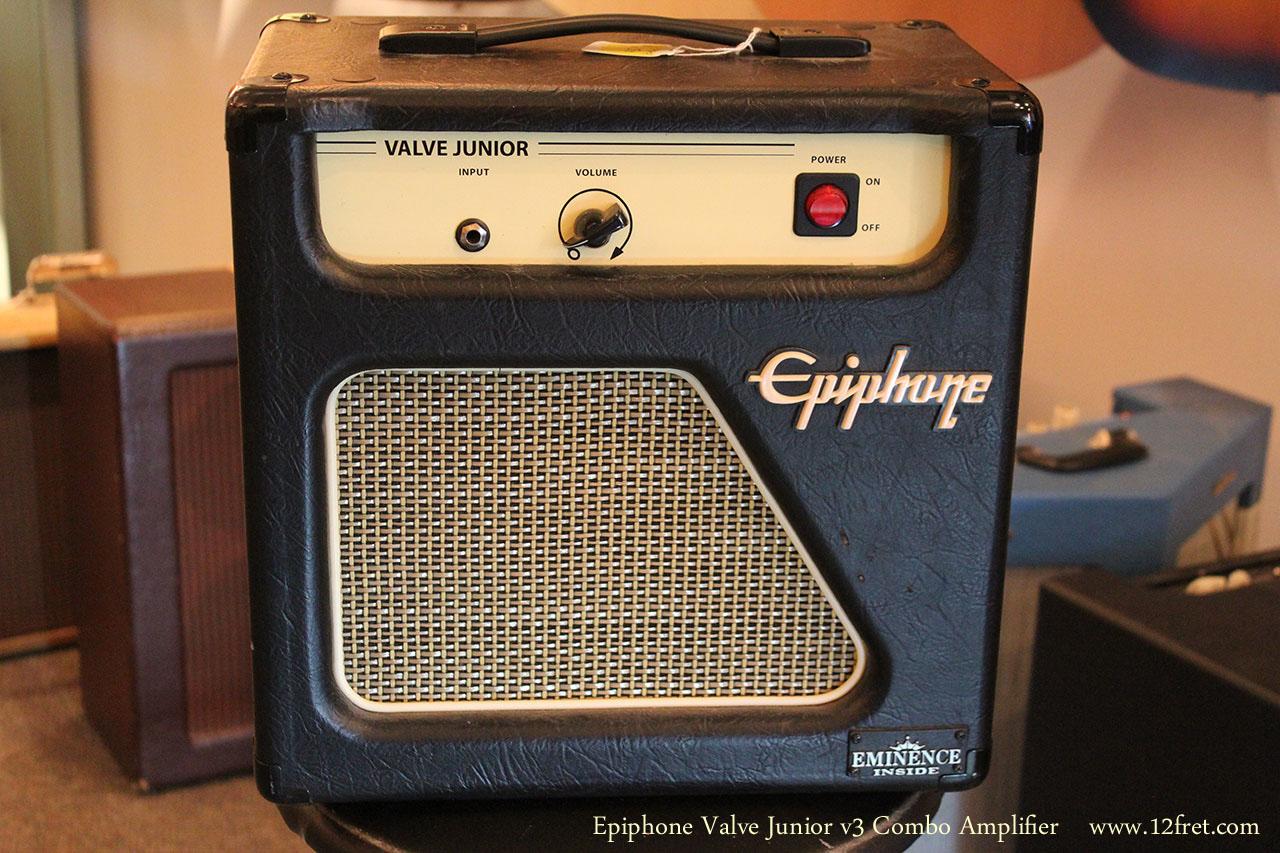 Epiphone Valve Junior v3 Combo Amplifier Full Front View