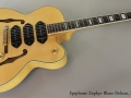 Epiphone Zephyr Blues Deluxe Archtop, 2004 Full Front VIew