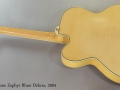 Epiphone Zephyr Blues Deluxe Archtop, 2004 Full Rear View