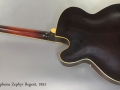 Epiphone Zephyr Regent 1951 full rear view