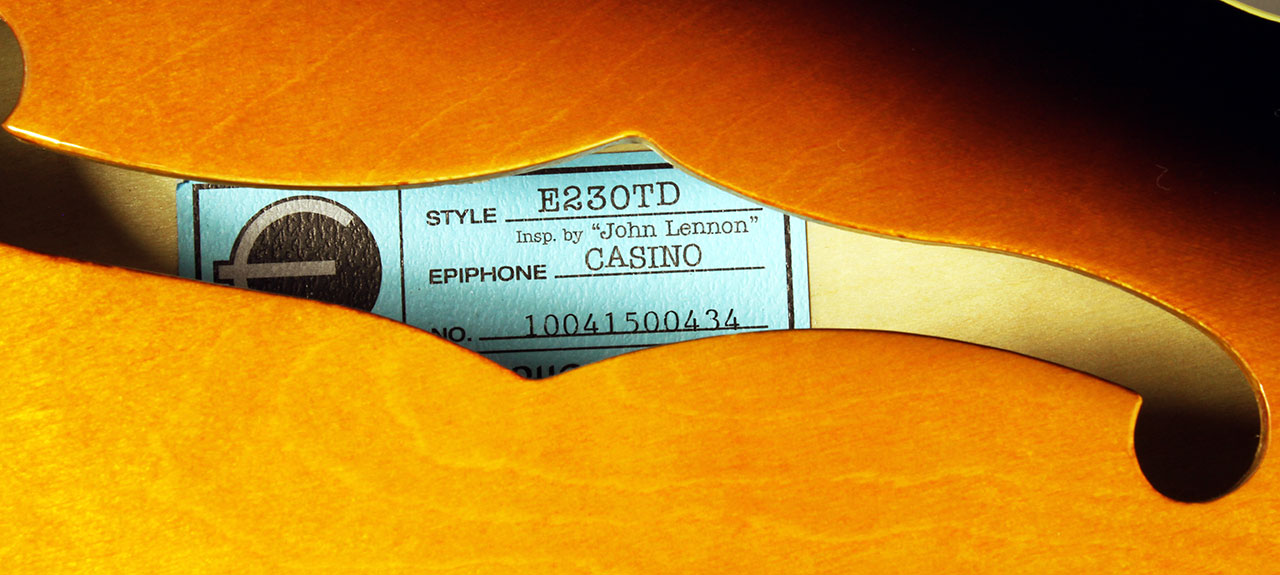 Epiphone_casino_IBJL_sb_label_1