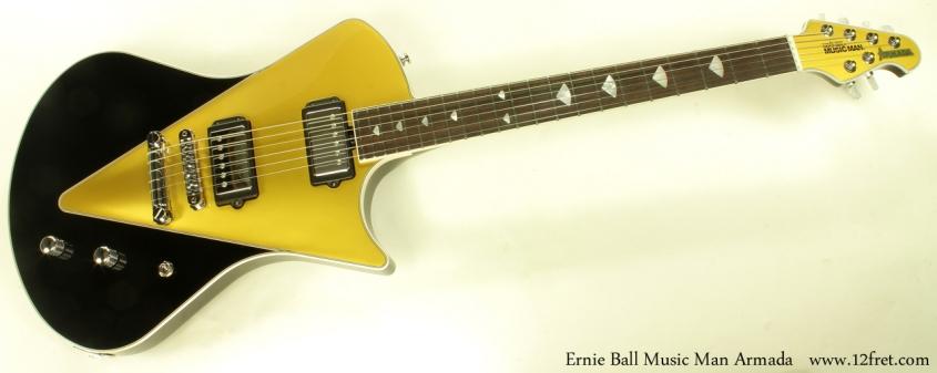 Ernie Ball Music Man Armada full front view