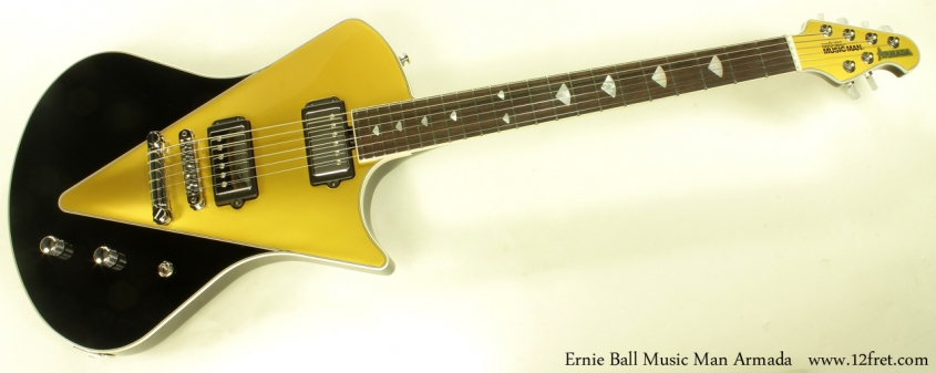 Ernie Ball Music Man Armada full front view