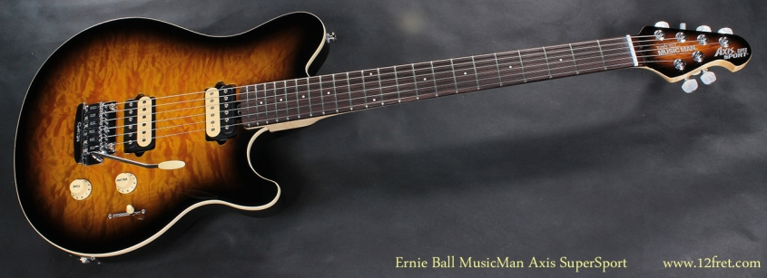 Ernie Ball MusicMan Axis SuperSport full front view