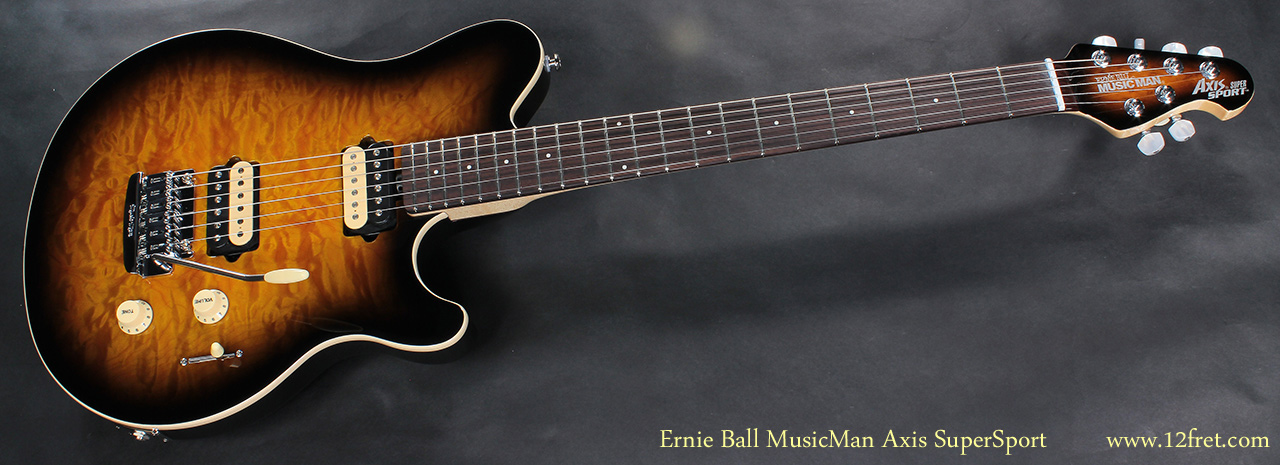 Ernie Ball Musicman Axis Supersport Www 12fret Com