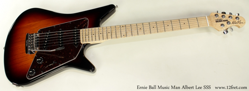 Ernie Ball Music Man Albert Lee SSS full front view