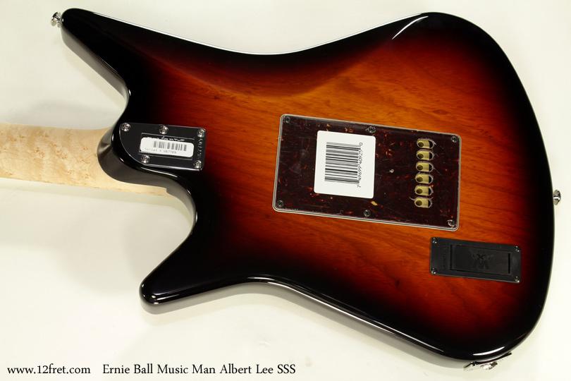 Ernie Ball Music Man Albert Lee SSS back