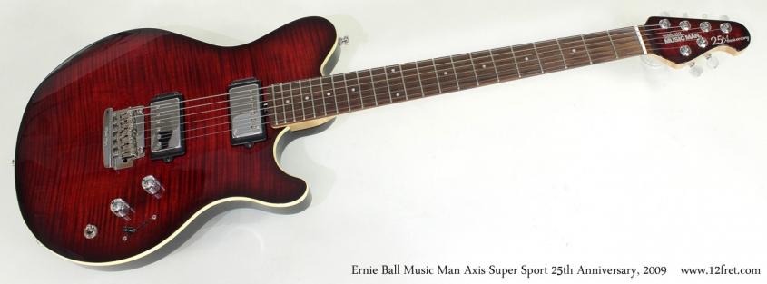 Ernie Ball Music Man Axis Super Sport 25th Anniversary 2009 full front view