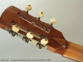 European Acoustic Guitar with Carved Rose, 1920s  Top