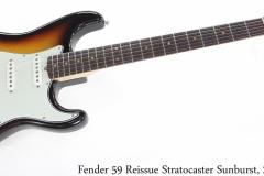 Fender 59 Reissue Stratocaster Sunburst, 2013 Full Front View