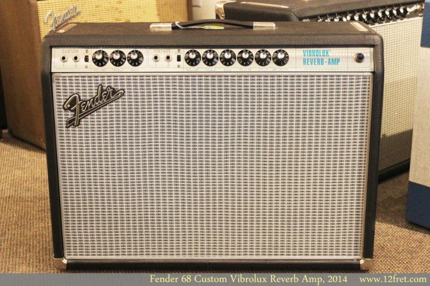 Fender 68 Custom Vibrolux Reverb Amp, 2014 Full Front View