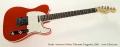 Fender American Deluxe Telecaster Tangerine, 2005 Full Front View