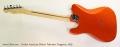 Fender American Deluxe Telecaster Tangerine, 2005 Full Rear View