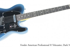 Fender American Professional II Telecaster, Dark Night Full Front View