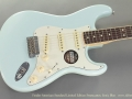 Fender American Standard Limited Edition Stratocaster Sonic Blue top