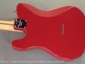 Fender American Standard Limited Edition Telecaster Dakota Red back